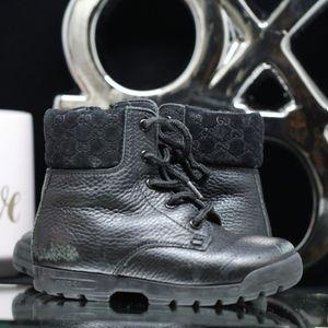 Gucci Toddler Commando Boots 6.5